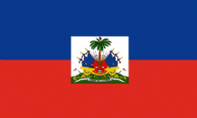 HAITI - HAND WAVING FLAG (MEDIUM)